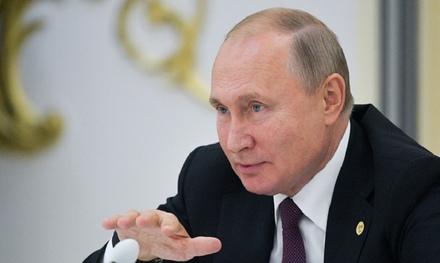 Владимир Путин о положении в Сирии