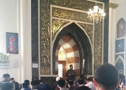 Соблюдение правил пожарной безопасности в мечетях
