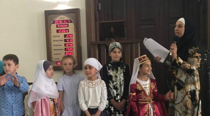 Праздник по случаю окончания Рамадана в поселке Белореченский